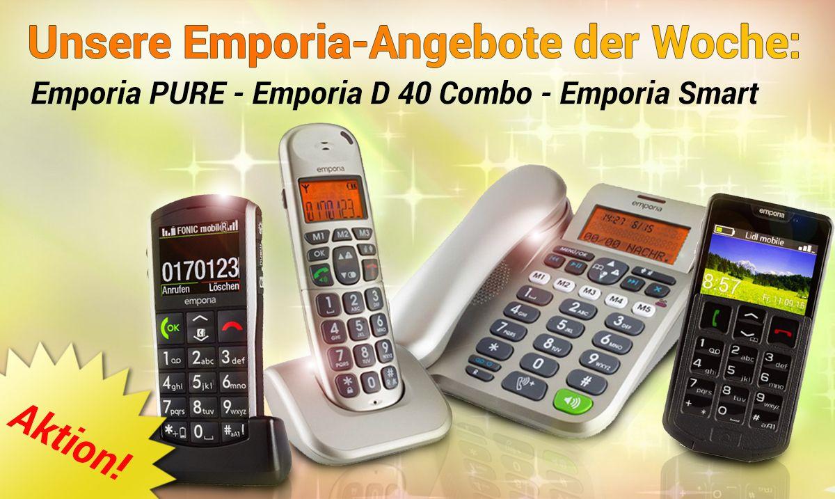 So Macht Telefonieren Spass Unsere Senioren Telefone Von Emporia Bieten Dir Eine Vielzahl Von Vorteilen Gegenuber H Am Telefon Senioren Handy Telefon