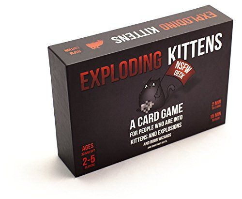 Exploding Kittens NSFW Edition (Explicit Content