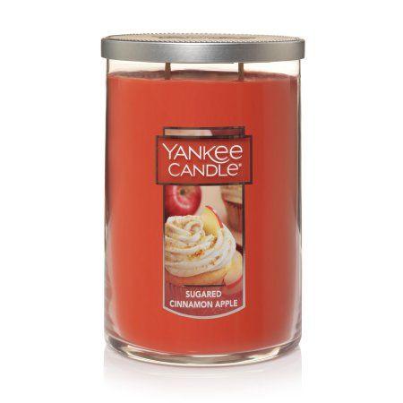 Yankee Candles Caramel Apple Cake 2-Wick Large Tumbler,Festive Scent