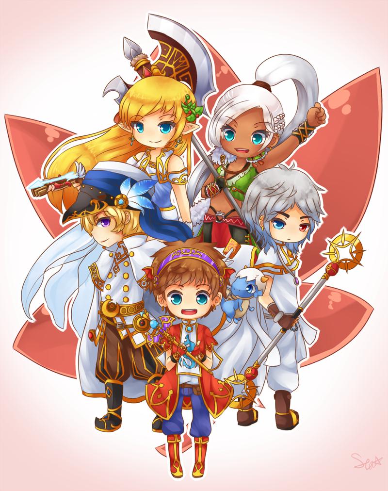 MapleStory Maple Heroes by SeaStaar MapleStory