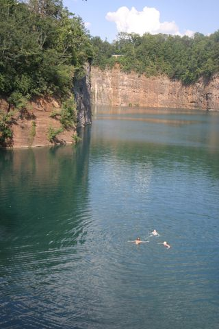 THE QUARRIES OF KNOX COUNTY: Quarry lakes, formed in the