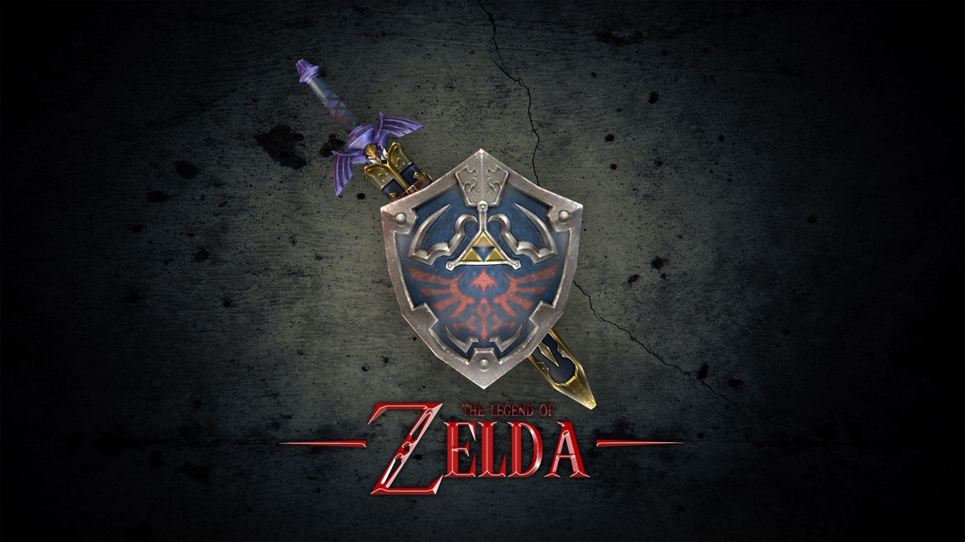 logo game zelda wallpaper