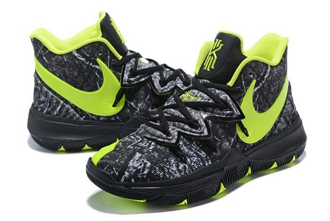 "4e0f2ea164ff Buy Taco x Nike Kyrie 5 ""Celtics"" PE Black Green Shoes in 2019 ..."