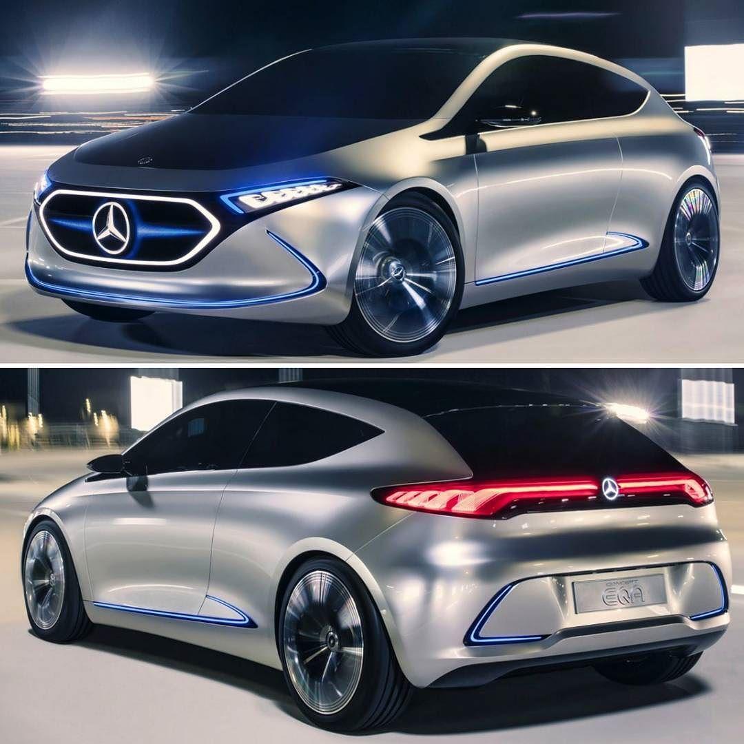 Mercedes-Benz EQA Concept 2017 Conceito Apresentado No