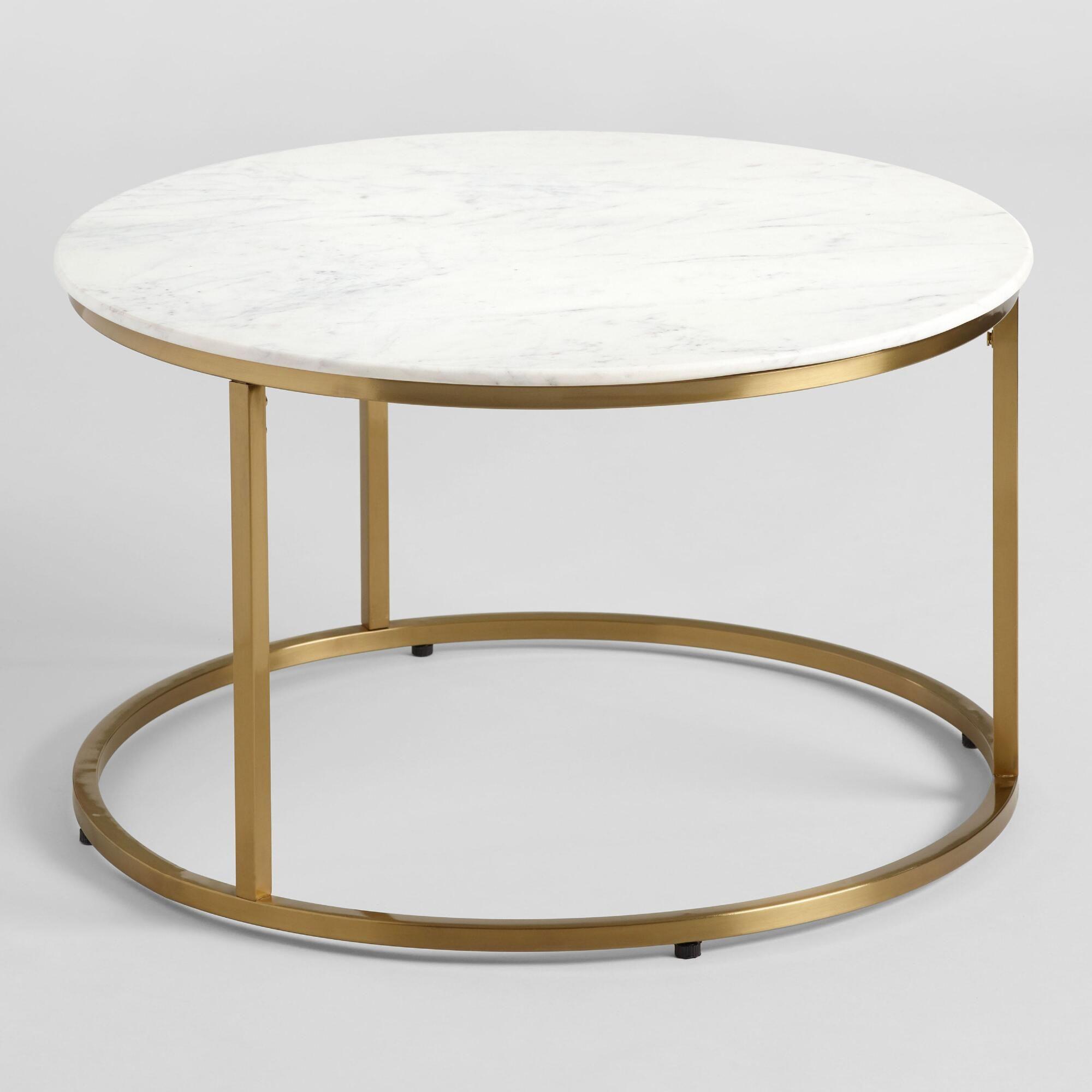 Round White Marble Milan Coffee Table World Market Coffee Table Gold Coffee Table Marble Round Coffee Table [ 2000 x 2000 Pixel ]