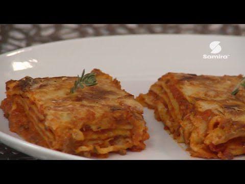 أذواق خديجة 2 كريب بالشكولاطة لزانيا كريب باني قناة سميرة Samira Tv Food Youtube