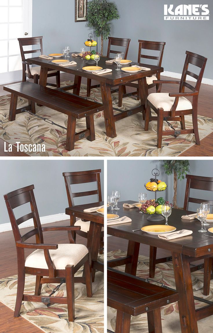 Fall In Love With This Solid Mahogany Dining Room From Kaneu0027s! The La  Toscana Dining