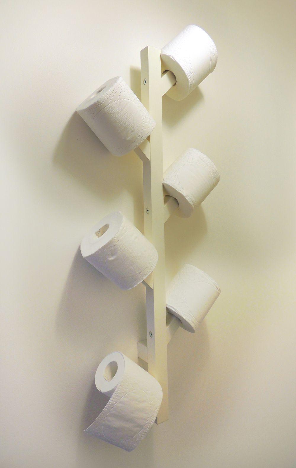 Tjusig Patere Ikea Devient Porte Papier Toilette A Essayer Avec Plusieurs Et A Des Hauteurs Differentes Comme Une Foret