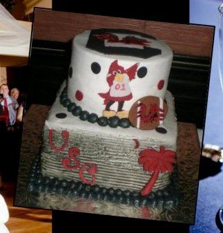 Grooms Cake South Carolina Themed Reception Pinterest Cake