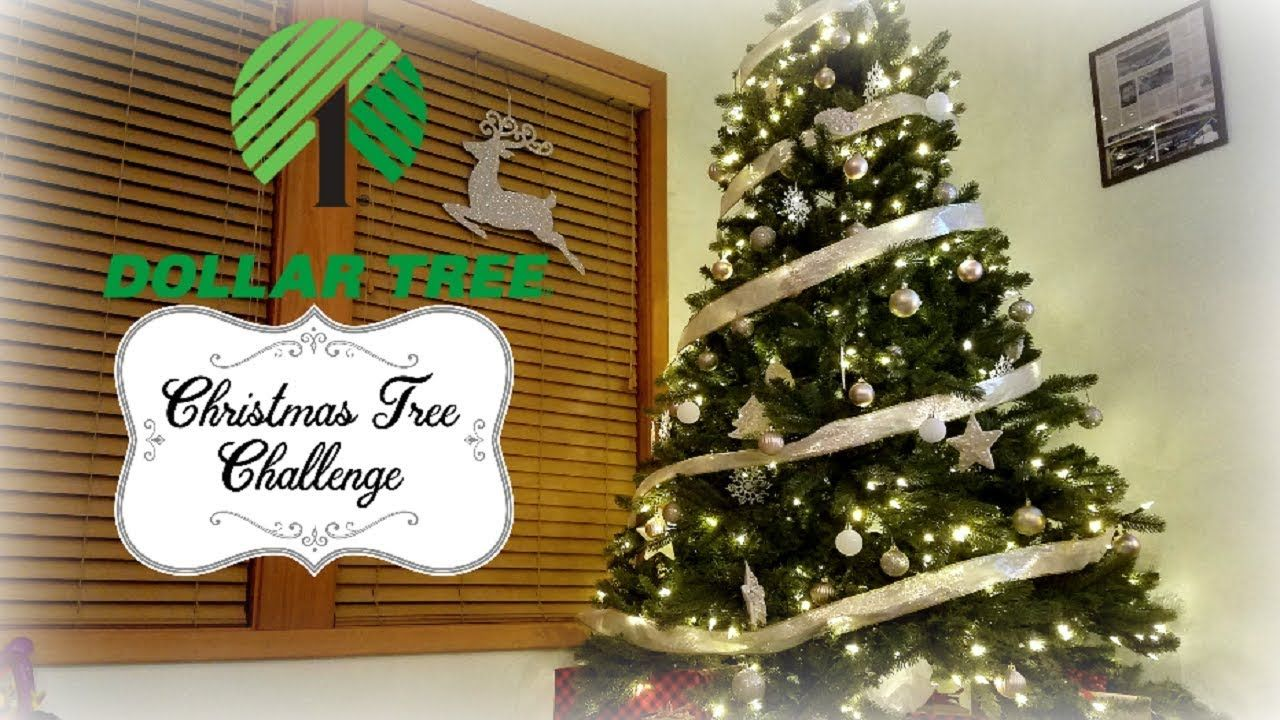 Dollar Tree Christmas Decor Challenge Collab My 20