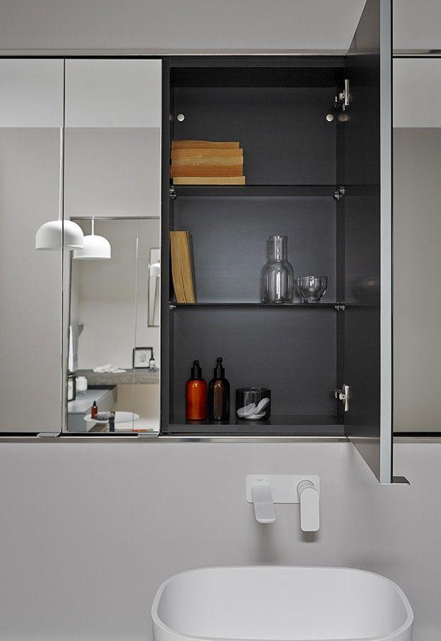 Combinado espejos armario modernos para ba os inbani ka - Espejos bano modernos ...