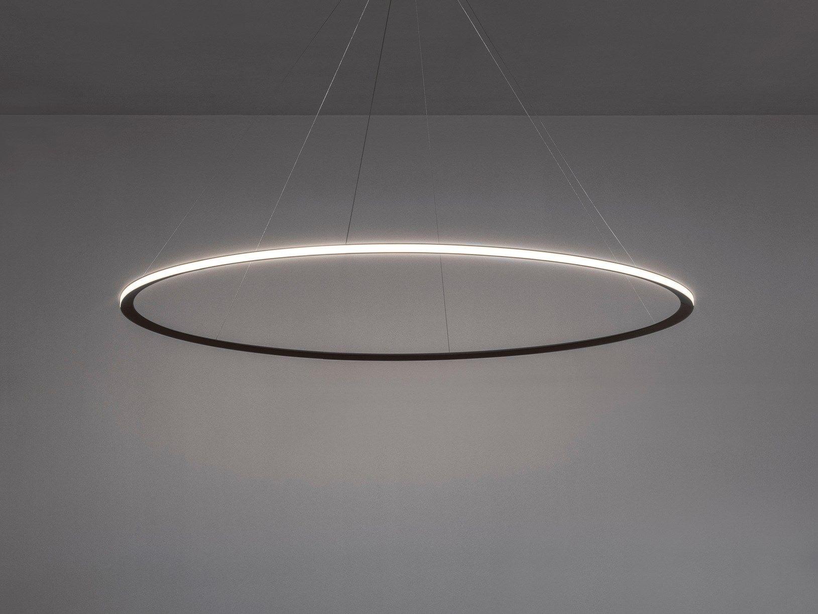 Lampade Sospese A Led.Lampada A Sospensione A Led A Luce Indiretta In Alluminio