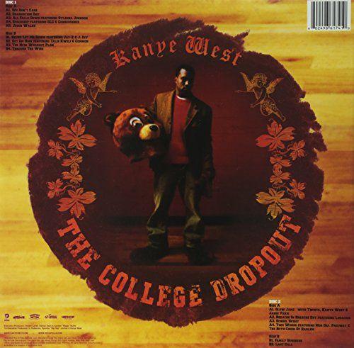The College Dropout Vinyl The College Dropout Vinyl Special Edition Double Vinyl Lp The Week This Debut Album Came Rap Album Covers Album Art Cover Art