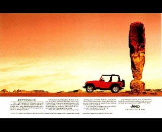 Exclamation Point Jeep Wrangler Print Ad Jeep Jeep Yj Print Ads