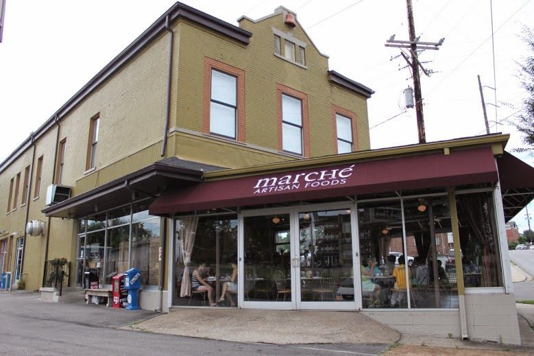 Thrift and Shout: My Guide to Exploring Nashville in 3 Days; Marche restaurant in east Nashville