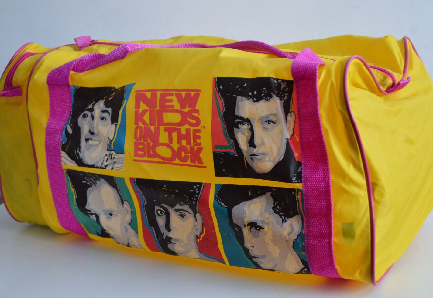 Vintage New Kids on the Block Duffel Bag 346d91d287de9