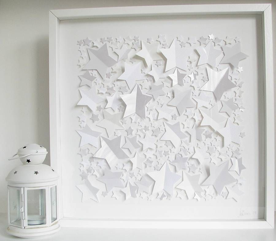 Personalised Fallen Stars Framed Picture from notonthehighstreet.com