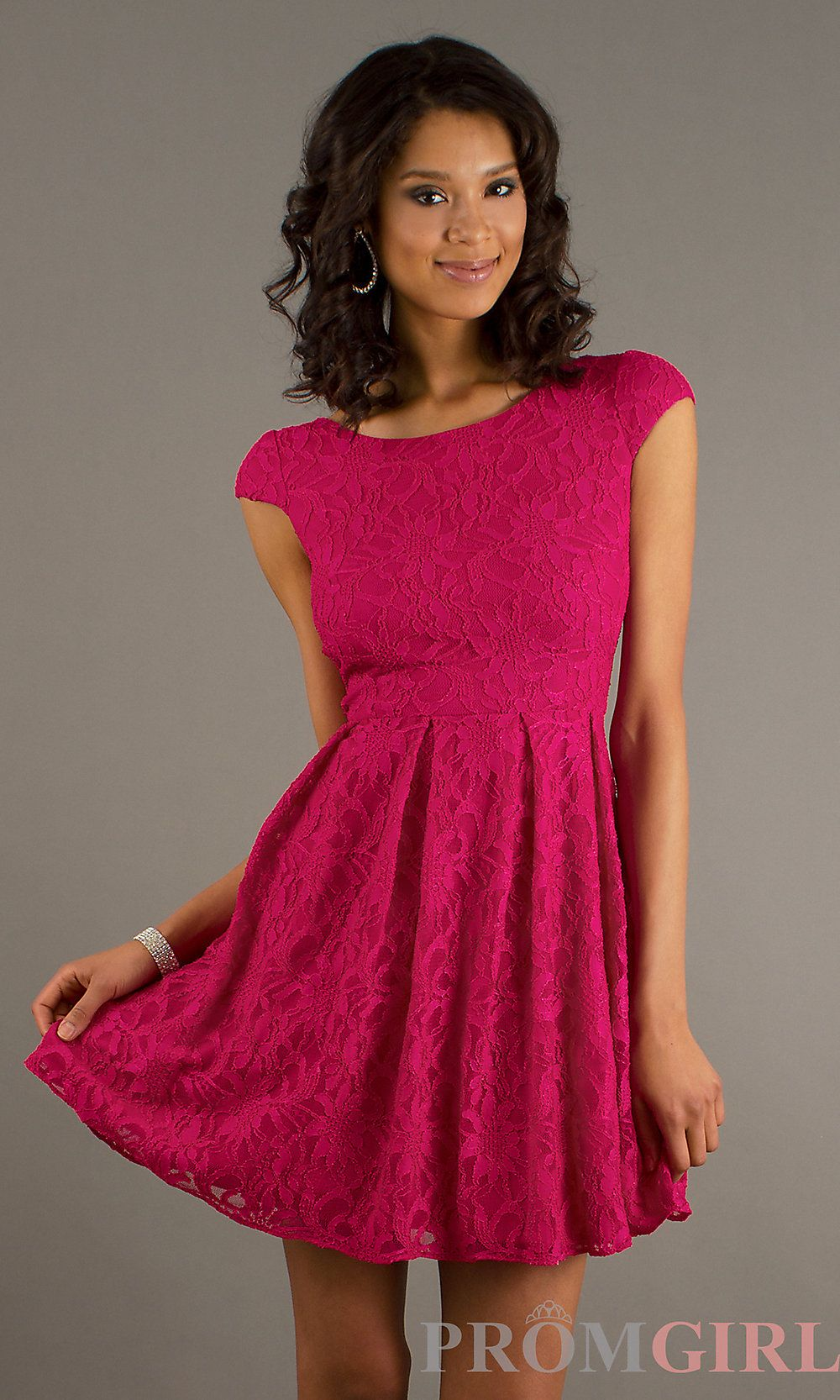 Short formal v neck dresses with cap sleeves for plus size