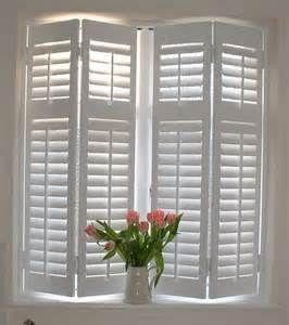 In White Interior Window Shutters Indoor Shutters