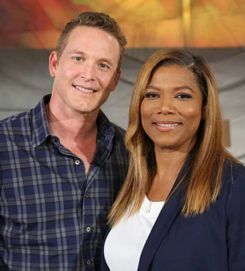 Cole Hauser and Queen Latifah