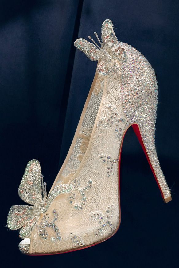 Bibbity Bobbity Shoe! Christian Louboutin for Disney  1a5c9206b955