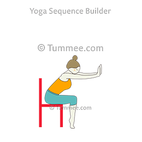 Seated Half Forward Fold Pose Chair Toes Arms Extended Palms Up Yoga Upavistha Ardha Uttanasana Chair Toes Hasta Extended Palms Up Yoga Sequences Benefits Yoga Poses For Beginners Yoga Sequences Yoga