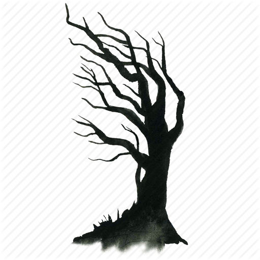 Dead Halloween Haunt Haunted Scary Spooky Tree Icon Download On Iconfinder Haunted Tree Tree Silhouette Spooky Trees