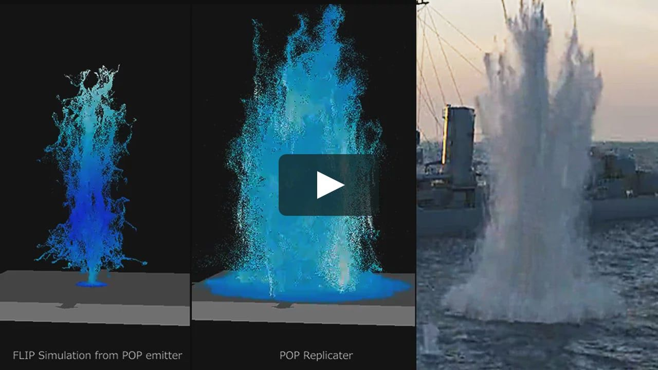 Making of a Houdini FLIP Explosion | Tutorials in 2019