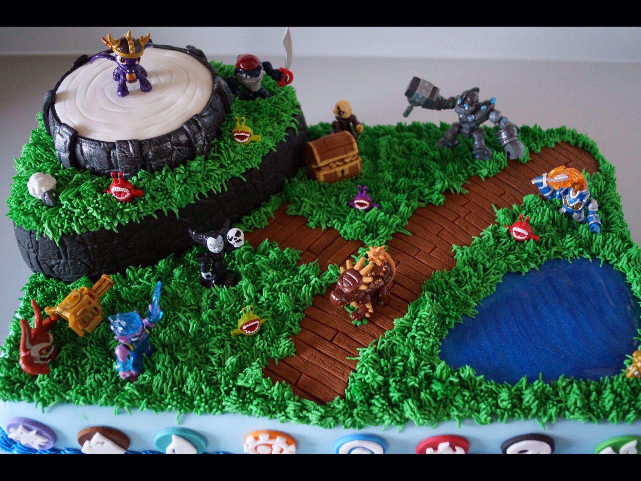 skylanders cake ideas Google Search Birthday cakes Pinterest