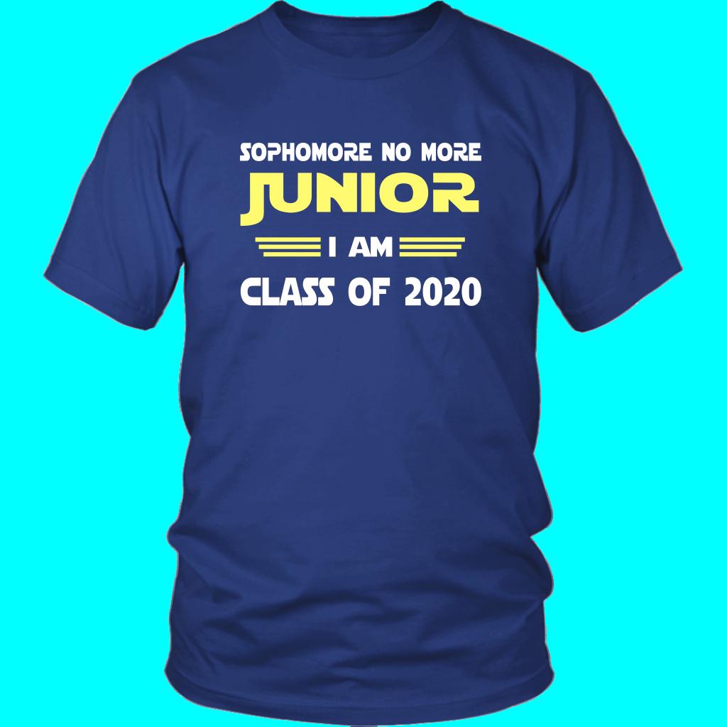 2020 Graduation Slogans.Junior I Am Class Of 2020 Slogans School Shirt Designs