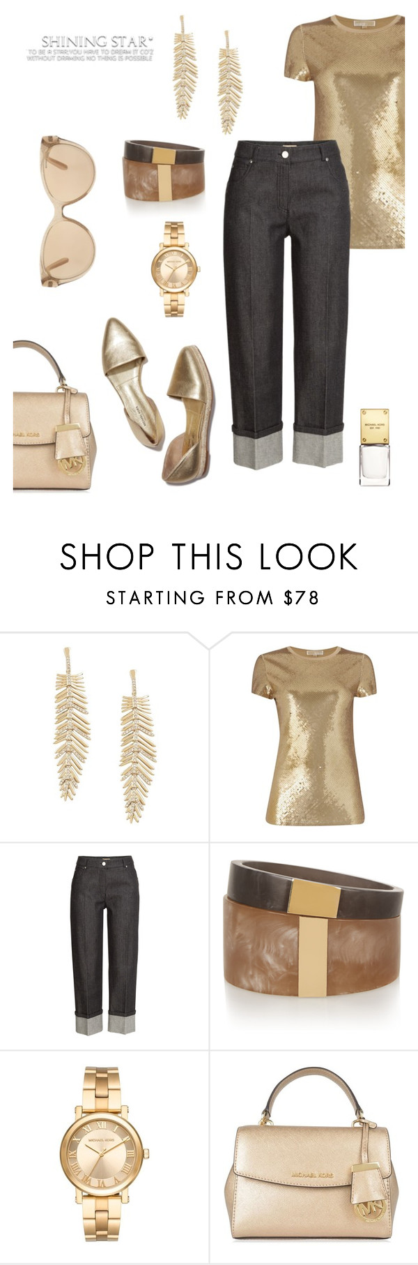 """""""Do you see me?"""" by schenonek ❤ liked on Polyvore featuring BCBGMAXAZRIA, Michael Kors, Isabel Marant and MICHAEL Michael Kors"""