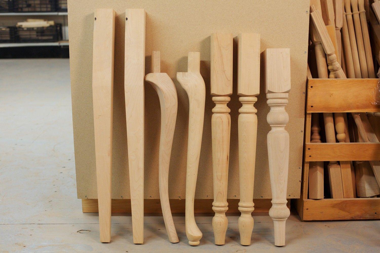 wood table legs Wood table legs, Kitchen table legs