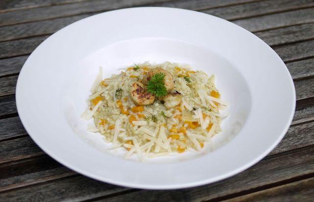 Experimente aus meiner Küche: Fenchel-Möhren-Risotto