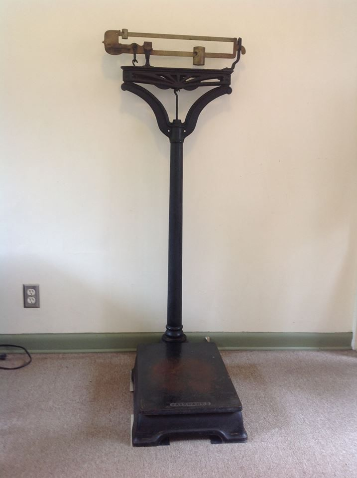 1890 S Antique Dr Scale Made By Fairbanks Scale Co In
