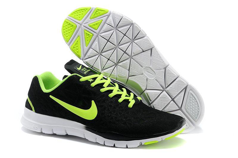 Nike Free TR Fit 3 Breathe Black Green Men\u0027s Training Shoes
