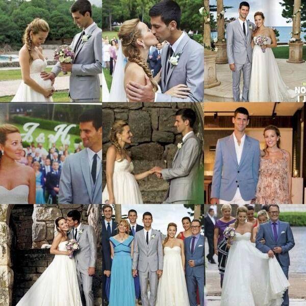 The Perfect Wedding Jelena Djokovic Novak đokovic Tennis Professional