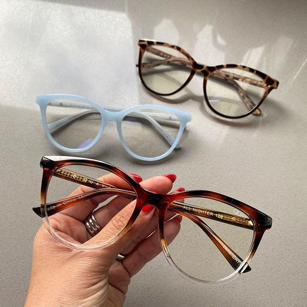 how do you clean blue light glasses