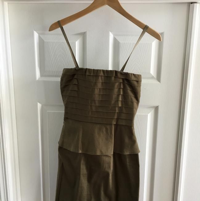 d8ea7f111e9 Gianni Bini Olive Sexy Back Strapless Dress - 60% Off Retail