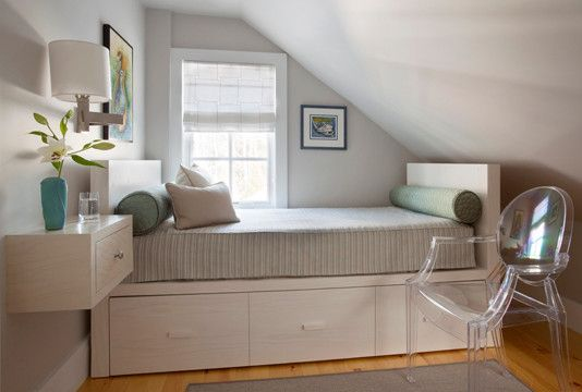 Ideas To Make A Small Bedroom Feel And Look Bigger    Http://www.decorationarch.com/home Design Tips/ideas To Make A Small Bedroom Feel And Look Bigger.html  ...