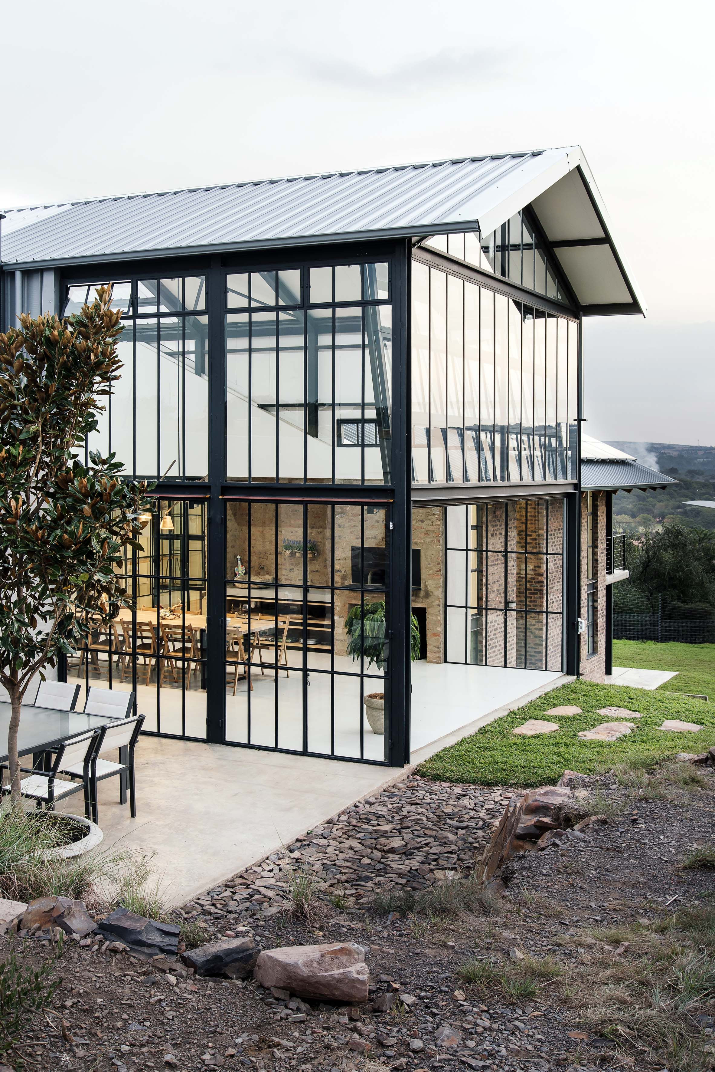 Conservatory house by nadine englebrecht in south africa