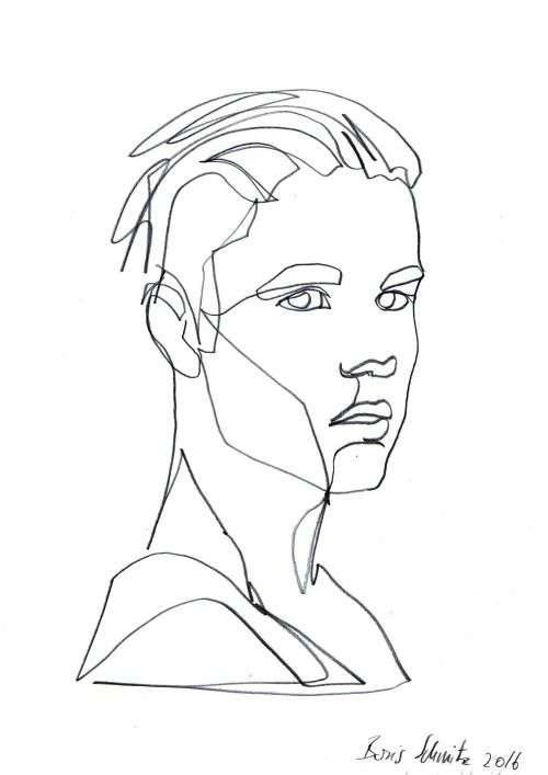 Gaze 351 justin bieber continuous line drawing by boris schmitz line drawing pinterest - Justin bieber dessin ...