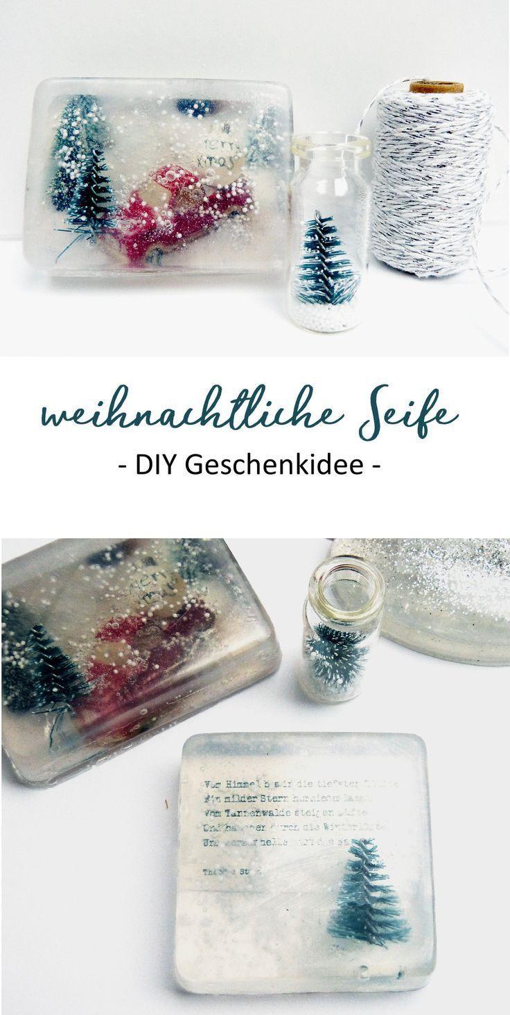 Weihnachtliche Seife selber machen | heiterundhurtig.de #diysoap