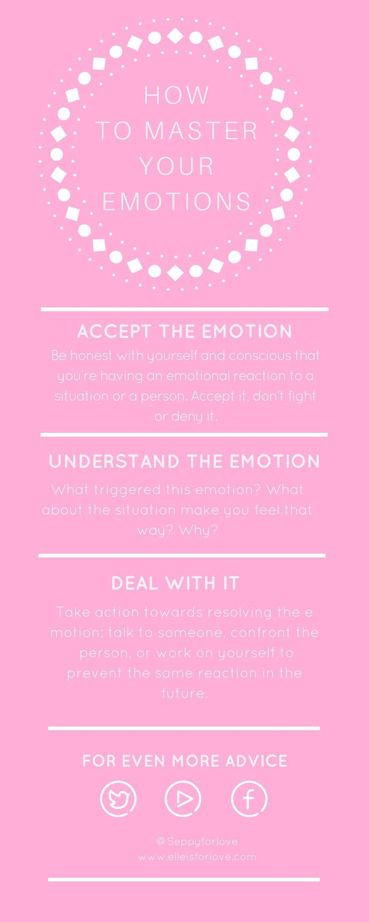 How to master your emotions in 3 steps group board and blog how to master your emotions in 3 easy steps because you should feel in control fandeluxe Gallery