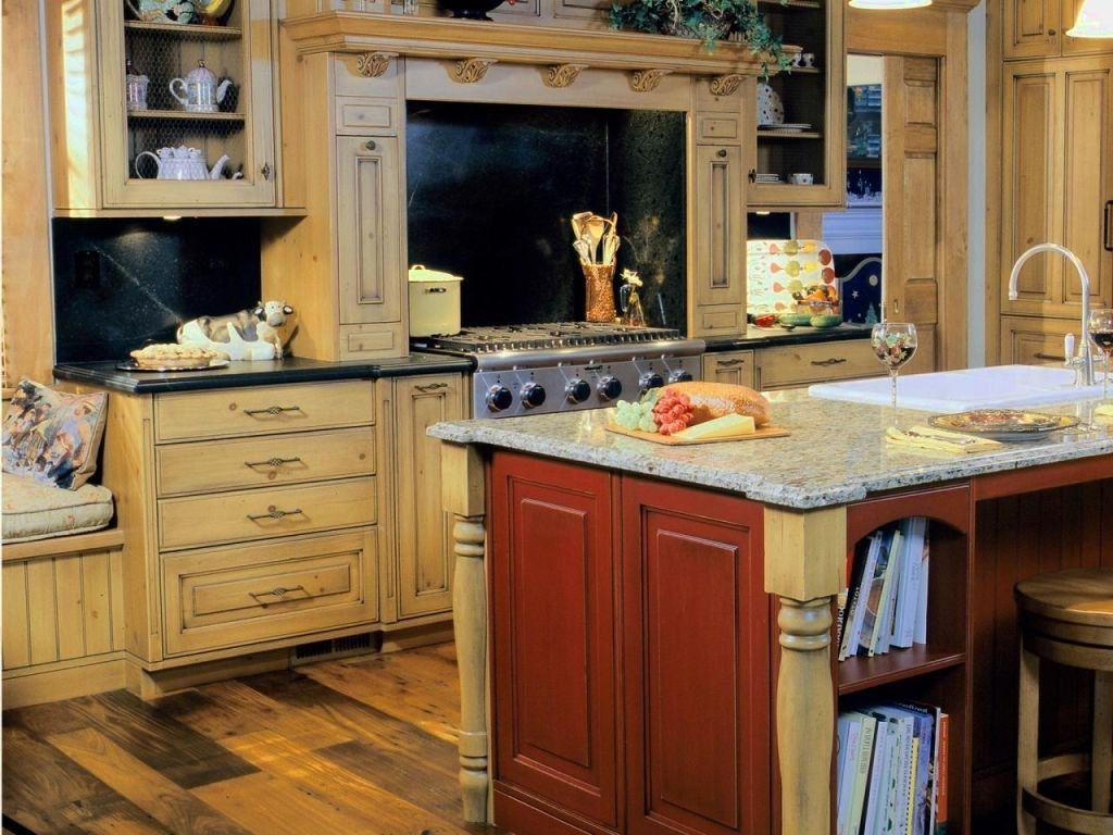 Colors kitchen ideal most popular color cabinets cabinet kazmik