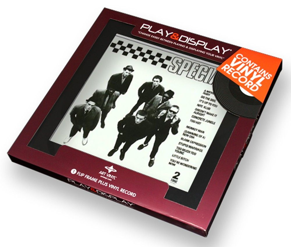 Specials - Specials - Art Vinyl Play & Display Gift Pack with Black ...