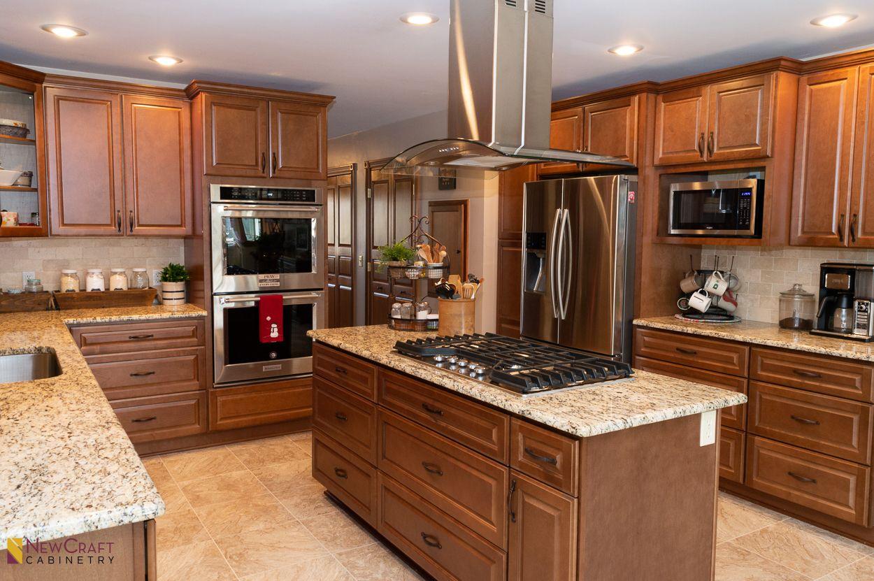 Quincy Brown Kitchen In 2020 Brown Kitchens Kitchen Home