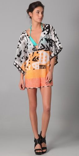 Diane von Furstenberg Kimono Romper - love this want something like it!