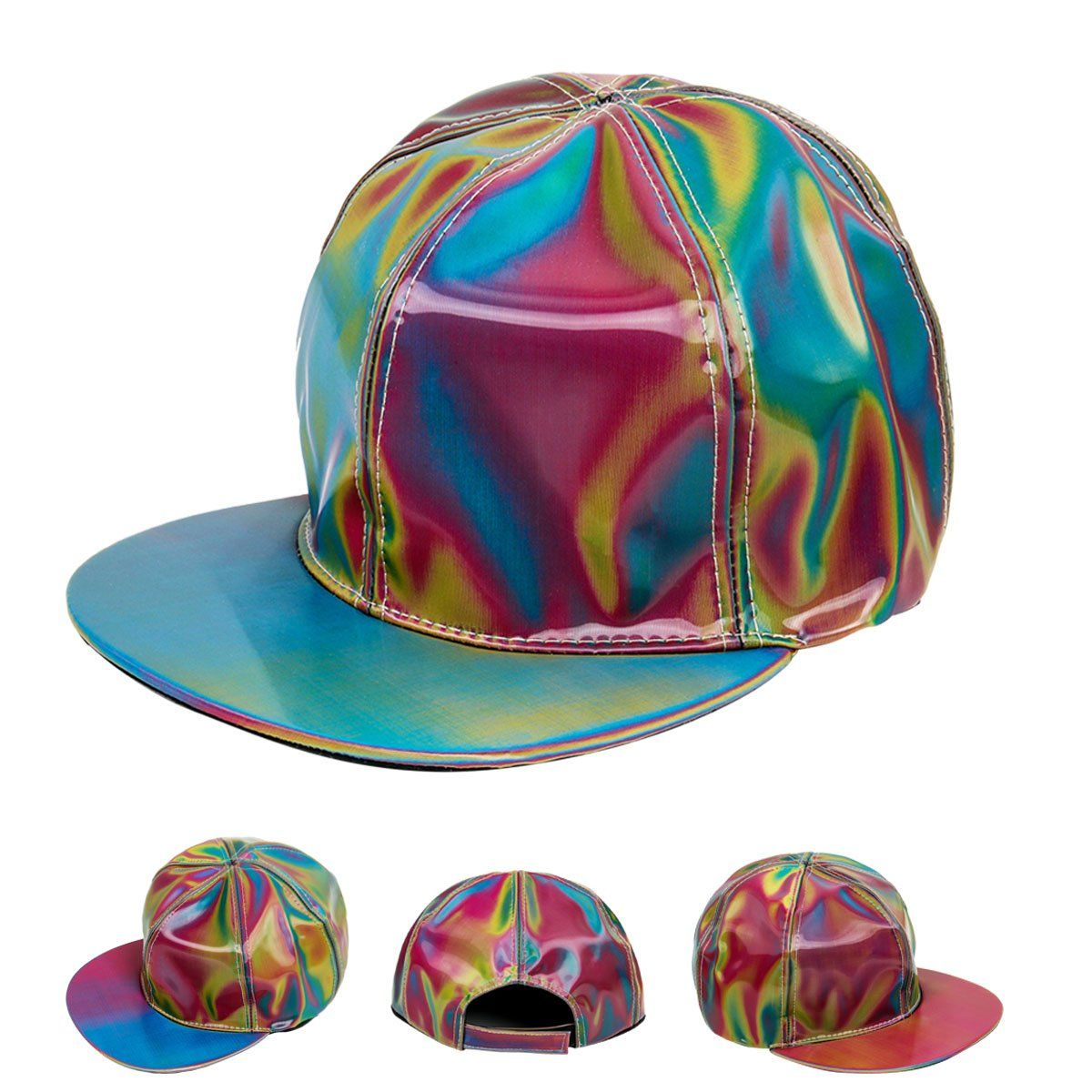 Marty McFly Back to The Future Colored Design Trucker Cap