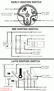 1965 Ford F100 Ignition Switch Wiring Diagram Schematic