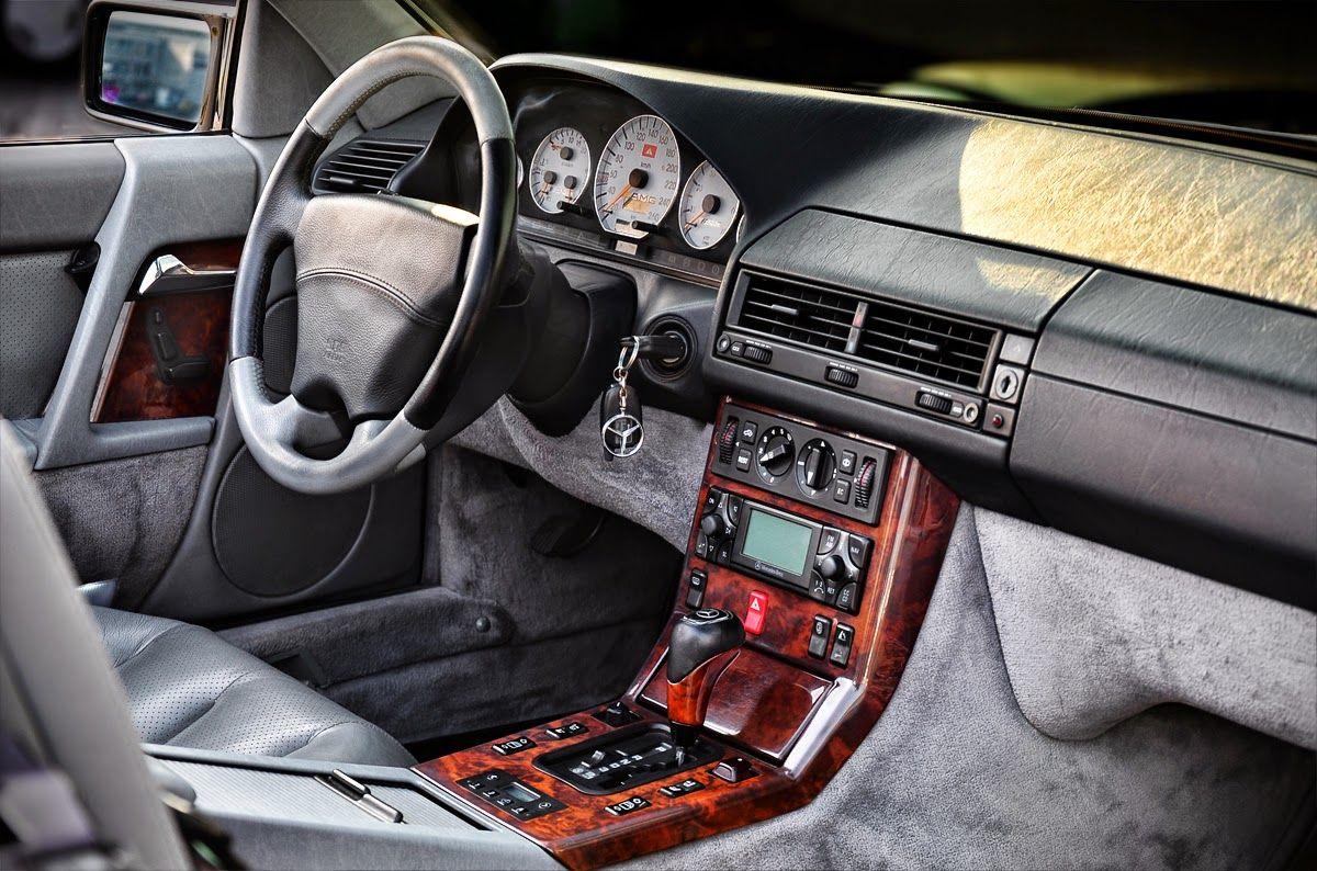 Mercedes 500 r129 interior